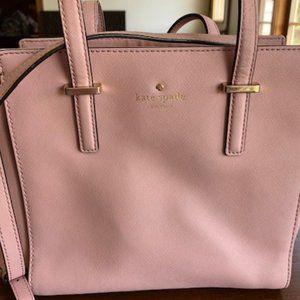 Kate Spade Small Hayden Leather Satchel/Crossbody